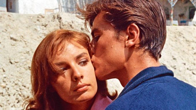 Alain Delon et Marie Laforêt en 1960 dans <i>Plein Soleil</i>, de René Clément.