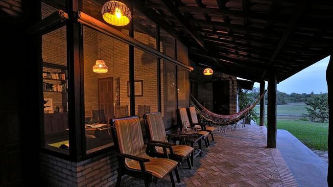 La fazenda Barranco Alto, une halte idéale pour découvrir l'une des plus belles zones du Pantanal.