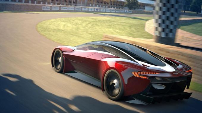 Cette supercar virtuelle aurait fière allure sur la route.