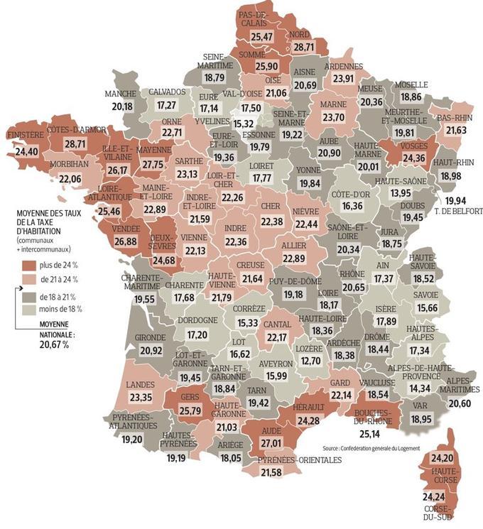 La taxe d 39 habitation accentue les in galit s entre les - Plafond exoneration taxe habitation 2014 ...