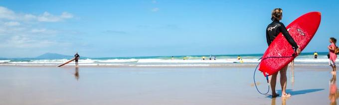 Ecole de Surf de Bidart.