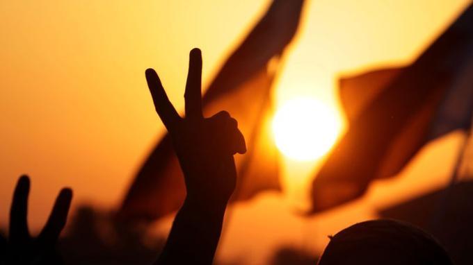 Des manifestants à Bahrein, en novembre 2011.
