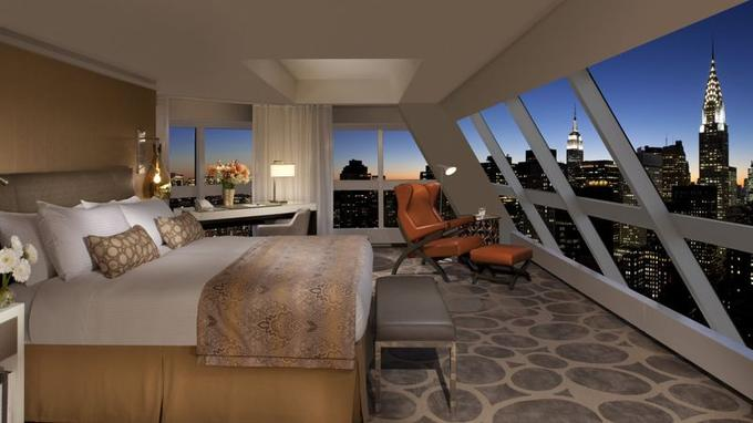 5 chambres d 39 h tel avec vue sur monument for Hotel avec piscine new york