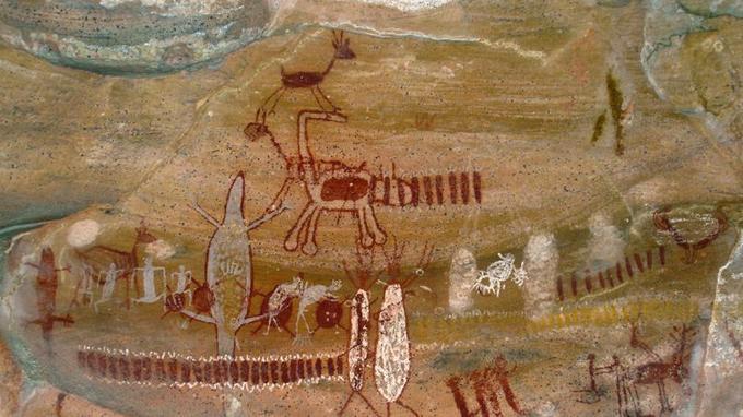 Des peintures rupestres sont visibles dans de nombreuses grottes. (Crédit: Vitor 1234/Flickr/CC)