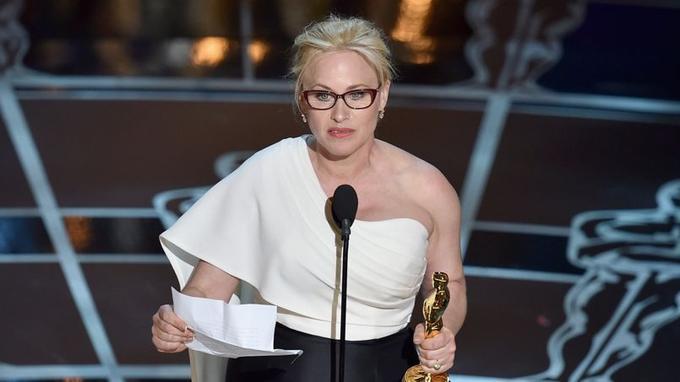 L'actrice a prononcé un discours remarqué lors de la remise de l'Oscar de la meilleure actrice dans un second rôle.