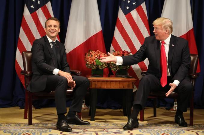 Trump aurait invité Macron à Washington