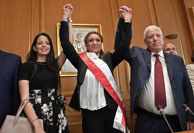 Une première: une femme élue Maire de Tunis