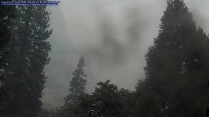 Un incendie menace le parc américain de Yosemite
