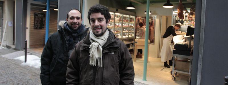 Alexandre Drouard et Samuel Nahon, duo de limiers à la recherche de produits de qualité, ont créé Terroirs d'avenir.