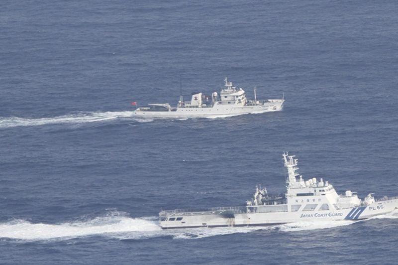 Onze navires gouvernementaux chinois sont arrivés mardi à proximité des îles administrées par le Japon et revendiquées par la Chine. Aucun des bateaux n'est toutefois entré dans les eaux territoriales autour de ces trois îles - Diaoyu pour les Chinois, Senkaku pour les Japonais.
