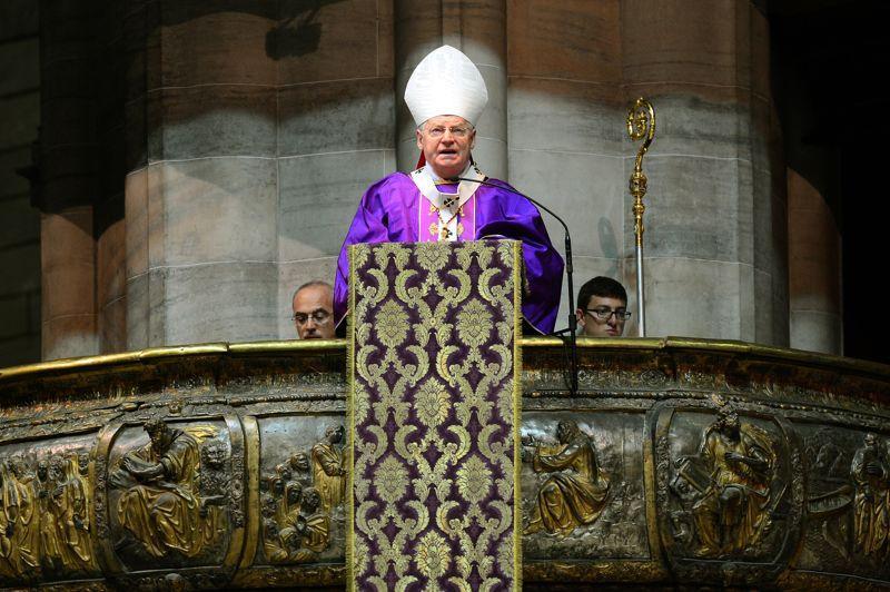 Le cardinal Angelo Scola, 71ans, a été nommé archevêque de Milan en 2012 par BenoîtXVI. C'est le candidat italien, même s'il ne fait pas l'unanimité chez les cardinaux de son pays en raison de sa filiation spirituelle avec le mouvement Communion et Libération.
