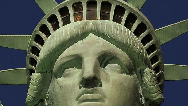 Célèbre New York : la statue de la Liberté rouvre pour la fête nationale GX39
