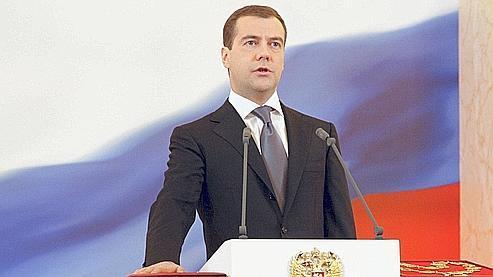 Medvedev, troisième président de la Russie