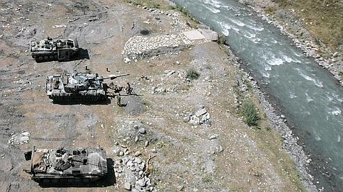 La Géorgie signe le cessez-le-feu avec la Russie