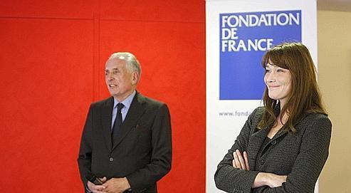 Les droits du CD de Carla Bruni pour la Fondation de France