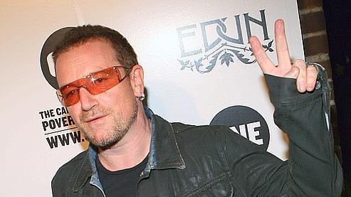 LVMH s'intéresseaux «vêtements bio» de Bono