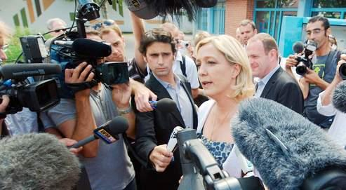Marine Le Pen prend date pour 2012