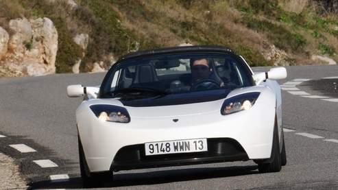 Tesla Roadster S : c'est de la dynamite !