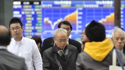 La Bourse de Tokyo pique du nez