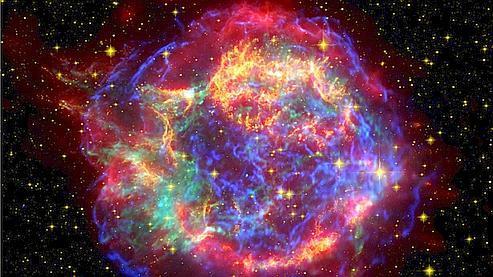 Explosions d'étoiles du troisième type