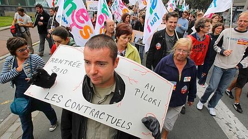 Grève peu suivie lundi dans les collèges et les lycées