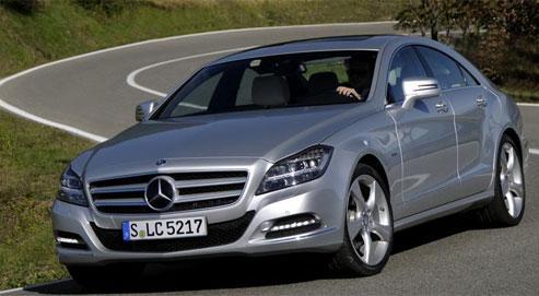 Mercedes CLS, roulez, elle fait tout le reste