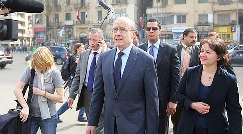 Alain Juppé fait profil bas en Égypte