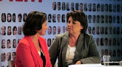 Royal et Aubry réunies face à Hollande