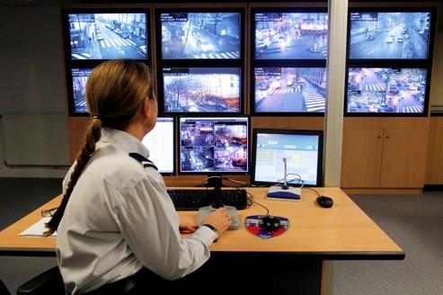 À Paris, 350 arrestations grâce aux caméras