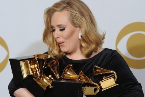Adele part favorite pourles Brit Awards 2012