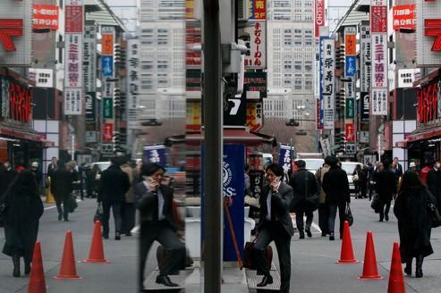 Le Japon a réussi à limiter la récession en 2011