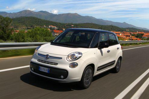 Fiat 500L: une citadine au sens large