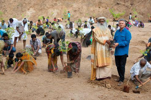 Des millions d'arbres pour le Tamil Nadu