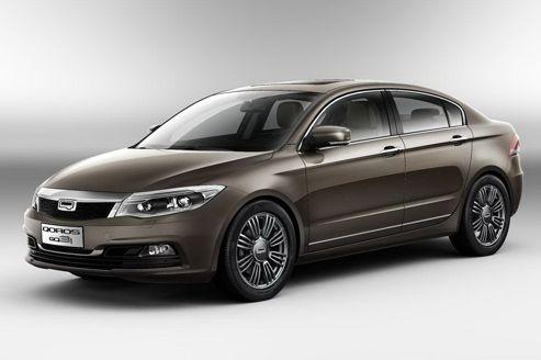 Qoros GQ3: une berline chinoise pour l'Europe