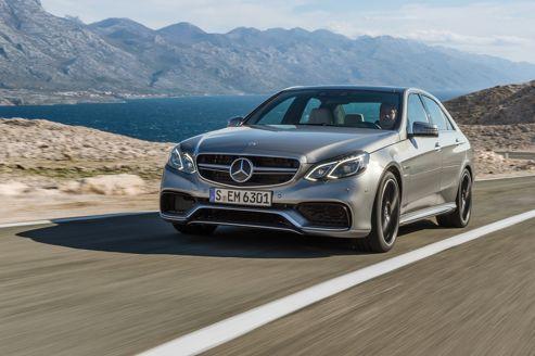 Mercedes E 63 AMG, les watts sont au rendez-vous