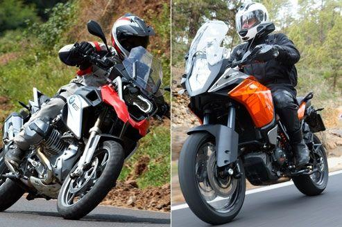 BMW R 1200 GS vs KTM 1190 Adventure, le choc des titans