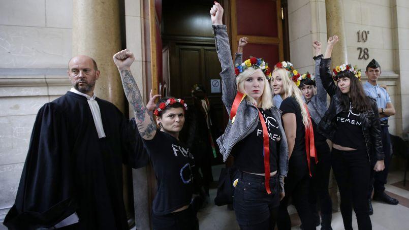 Le procès des Femen de Notre-Dame renvoyé en février prochain