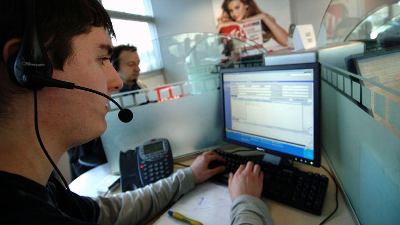 8000 emplois détruits dans les centres d'appels