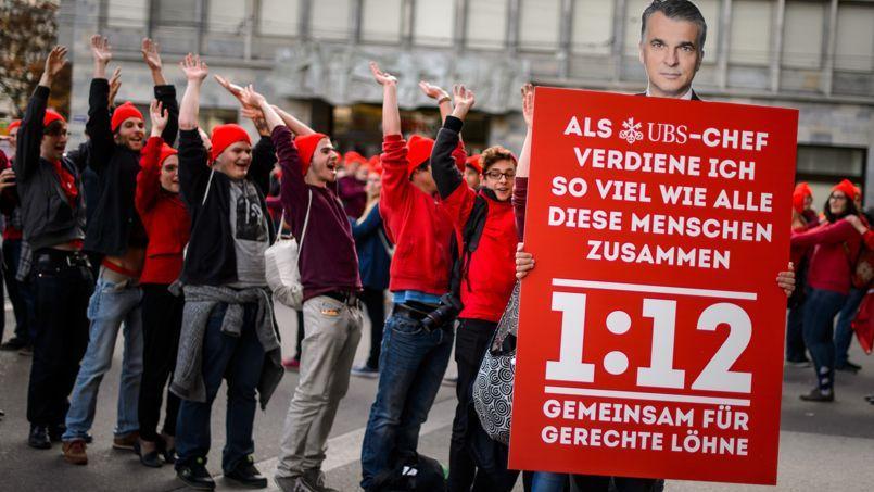 Les Suisses votent sur les salaires des patrons