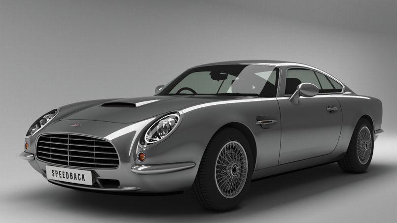 Speedback, le fac-similé de l'Aston de Goldfinger