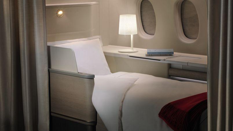 Lever de rideau sur la nouvelle première classe d'Air France