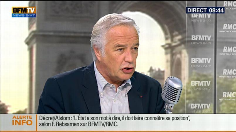 François Rebsamen «regrette» que DSK ne puisse pas revenir