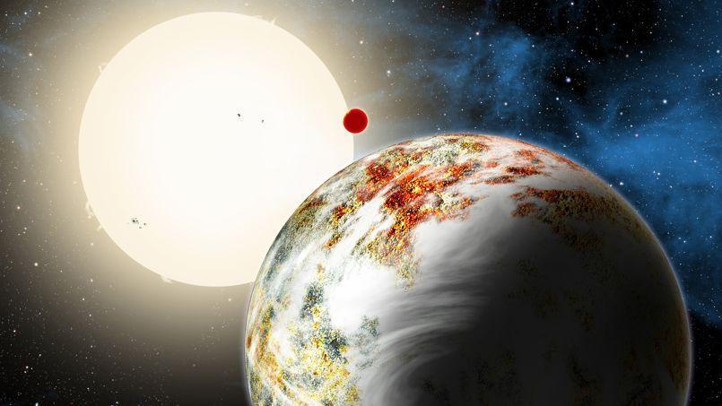 Découverte de la première «méga-Terre»