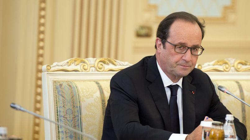 Ce cliché dont François Hollande se serait bien passé