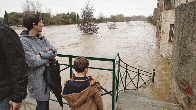 La douceur de l'automne et les inondations dans le Sud-Est sont liées