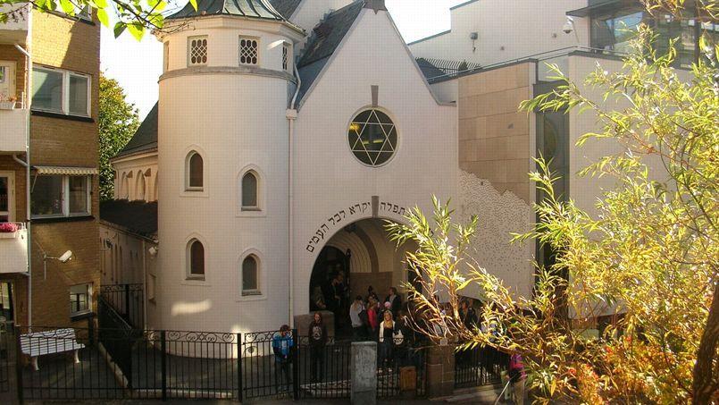 La synagogue de la rue Bergstien à Oslo.