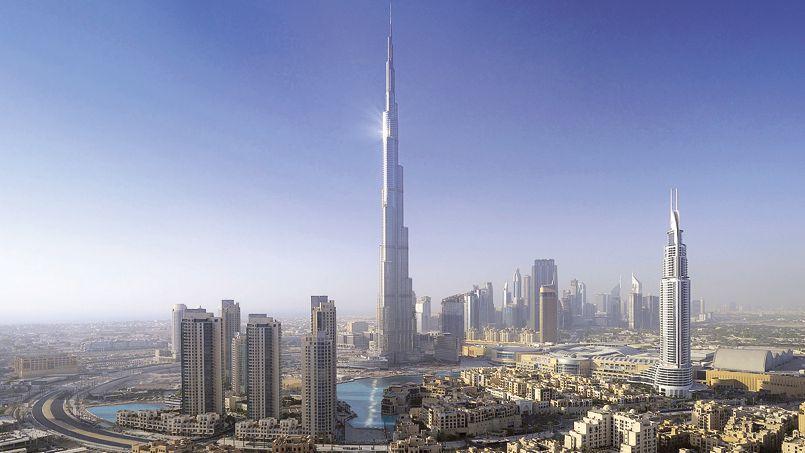 Dubai toujours plus - Hauteur plus grande tour dubai ...