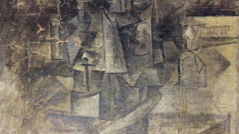 <i>La Coiffeuse</i> de Picasso avait été dérobée au Centre Pompidou, à Paris, en 2001. Retrouvée en décembre par les douanes américaines, elle va être restituée au gouvernement français.