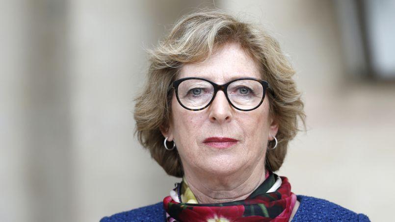 Geneviève Fioraso, le 2 avril 2014.