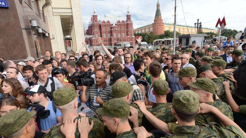 Temps russe des milliers de